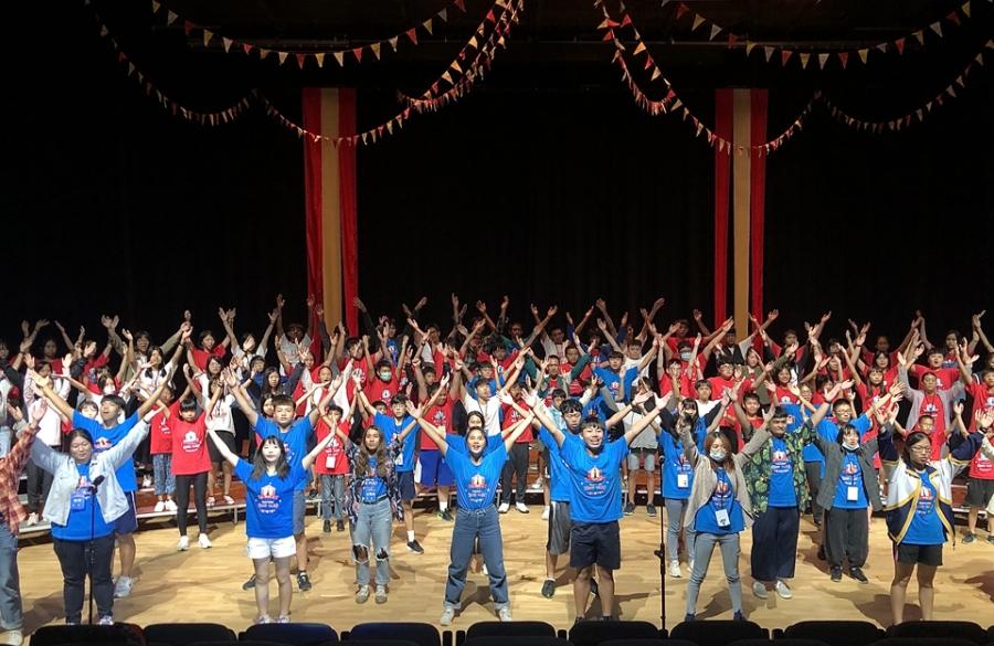 贊助公益平台文化基金會「花東青少年合唱音樂營」活動擴音設備