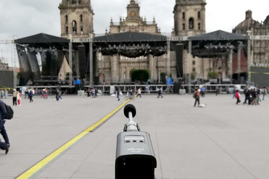 MIPRO TA-80於墨西哥獨立紀念日慶祝活動的量測應用